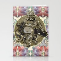 Laughing Buddha Stationery Cards