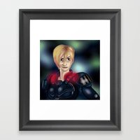 Calhoun Framed Art Print