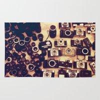 I Love Analogue Photogra… Rug