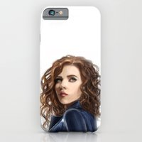 iPhone Cases featuring Black Widow....Avengers....Marvel.... by Emiliano Morciano (Ateyo)