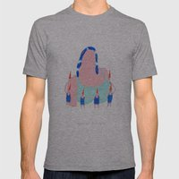 Snow White Mens Fitted Tee Athletic Grey SMALL