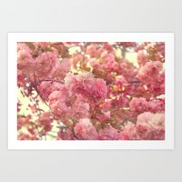 Art Print featuring Pink Paradise by Oh, Good Gracious!