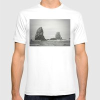 Sea Stacks (Cannon Beach… Mens Fitted Tee White SMALL