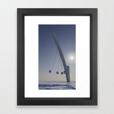 Silence Framed Art Print