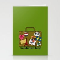 Wanderlust King Stationery Cards