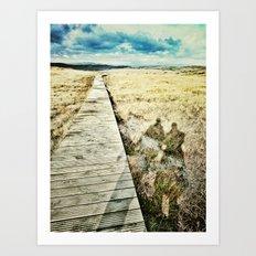 Connemara National Park, Ireland Art Print