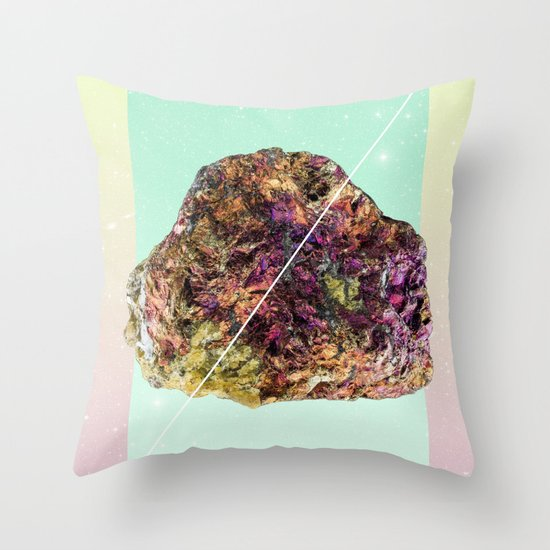 Mineral Love Throw Pillow