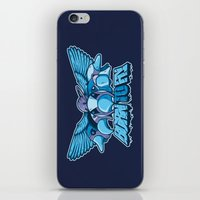 BORN TO FLY iPhone & iPod Skin