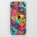 More Monsters, More Patterns iPhone & iPod Case