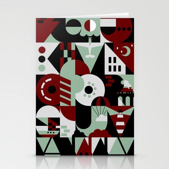 Urban Alphabet Stationery Card