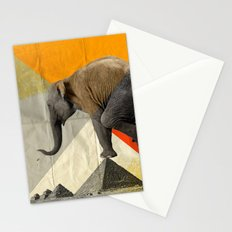 Balance of the pyramids Stationery Cards