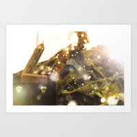 The Woodcutter Art Print