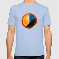 BALANCE Mens Fitted Tee Tri-Blue SMALL
