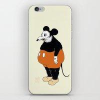 Mickey Da Rat iPhone & iPod Skin