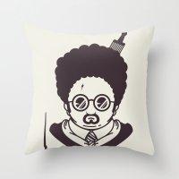 Barry Potter Throw Pillow