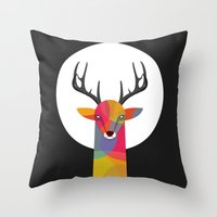 SO SERIOUS Throw Pillow
