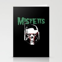 Misfetts Stationery Cards