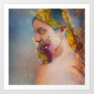 She Was The Apple Of His… Art Print