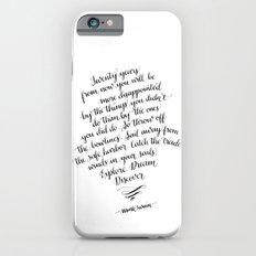 Explore. Dream. Discover. Slim Case iPhone 6s