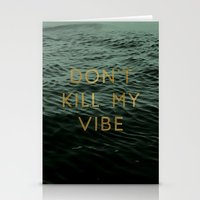 Vibe Killer Stationery Cards