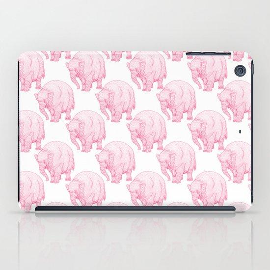 Pink Elephant iPad Case