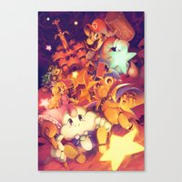 Super Mario RPG Canvas Print