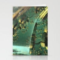 Cannon Battery (Crosshatch Explosion) Stationery Cards