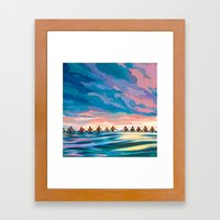 COMPLETING THE CIRCLE  Framed Art Print
