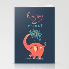 Enjoy The Moment Stationery Cards