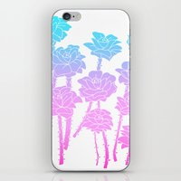 Gradient Roses iPhone & iPod Skin