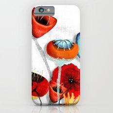 Ranunculus Poppies Anemone Bouquet Slim Case iPhone 6s