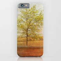 iPhone & iPod Case featuring Lonely tree.I by PhotophoBea@