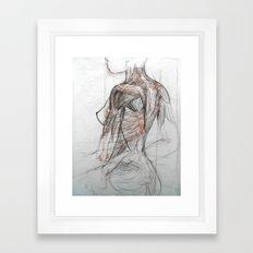 Posterior Musculature Framed Art Print