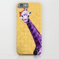 Tis The Season - Giraffe iPhone 6 Slim Case