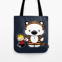 Hello Tiger Tote Bag