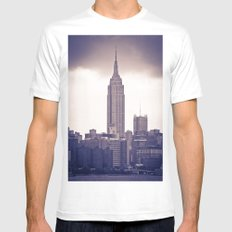 Urban Storm White SMALL Mens Fitted Tee