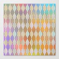 Diamond Pattern Canvas Print