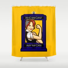 Amy Can! Shower Curtain