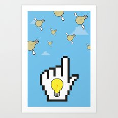 Ideas Art Print