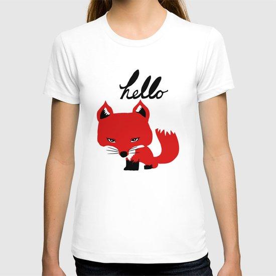 The Fox Says Hello T-shirt
