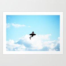 & Sharks Will Fly Art Print