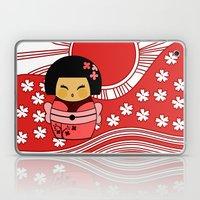Kokeshi Sakura Laptop & iPad Skin