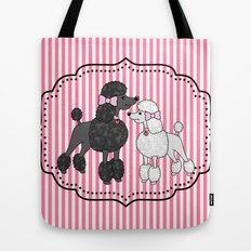 Pretty Poodles Tote Bag