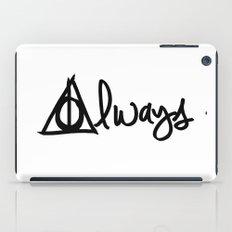 Always, Deathly Hallows, Harry Potter iPad Case