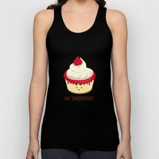Say CheeseCake! Unisex Tank Top