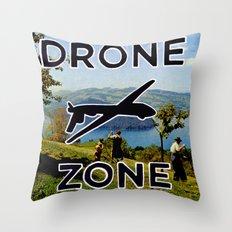 Drone Zone Throw Pillow