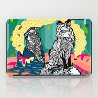 Fox in the Forest iPad Case