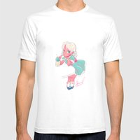 Sassy Doll Mens Fitted Tee White SMALL