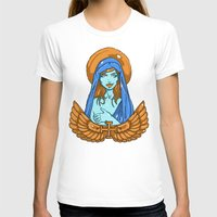 mother Womens Fitted Tee White SMALL
