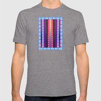 Lava Lamp Mens Fitted Tee Tri-Grey SMALL